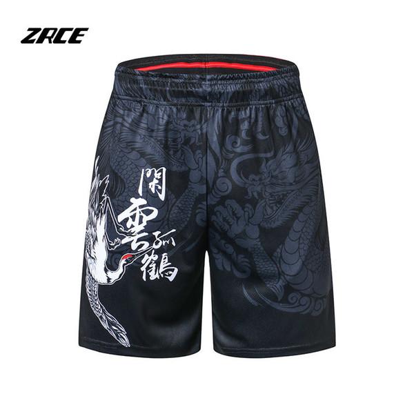 Vücut geliştirme Spor Şort 3d Baskılı Yaz Marka Giyim Nedensel Homme Nefes Plaj Gevşek Şort erkek Şort Y190422