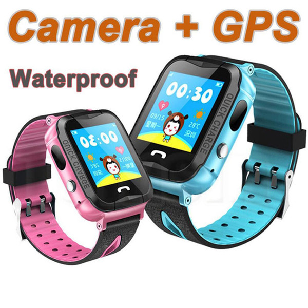 NEW GPS Kids Watches Baby Smart Watch For Children SOS Call Location Finder Locator Tracker Anti Lost Monitor Smartwatch