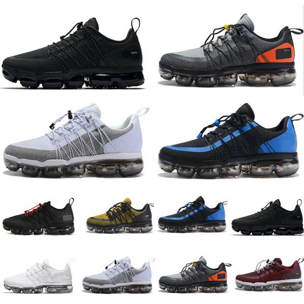 Großhandel 2019 Best Run Utility Herren Laufschuhe Anthrazit Medium Olive Schwarz Reflektieren Silber Designer Sneakers Sportschuhe Trainer 40 45 Von