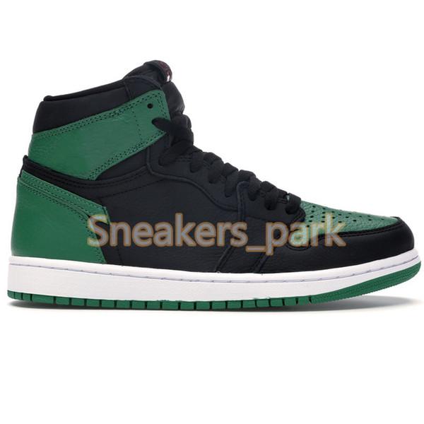 1s-High Pine Green Black