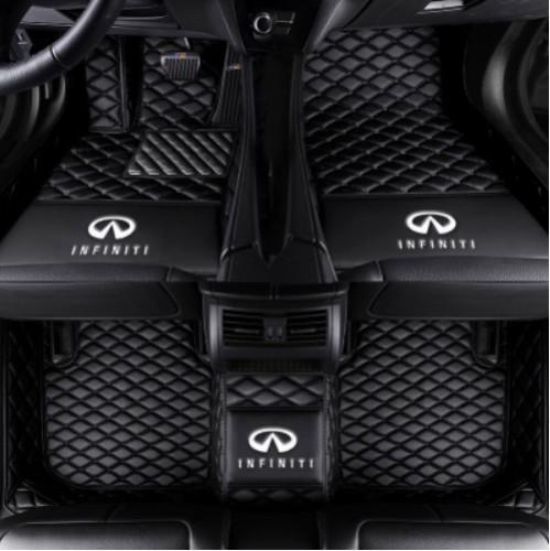 best selling FIT FOR Infiniti G37 JX35 Q50 Q60 Q70L QX30 QX50 QX56 QX60 QX70 QX80-Veloster Car floor mat