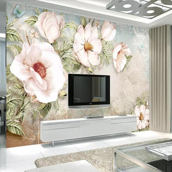 Großhandel Europäische 3D TV Hintergrund Wand Einfache Moderne Tapete Film  Tapete 5d Dreidimensionale Schlafzimmer Tapete Chinesischen Wandgemälde Von  ...
