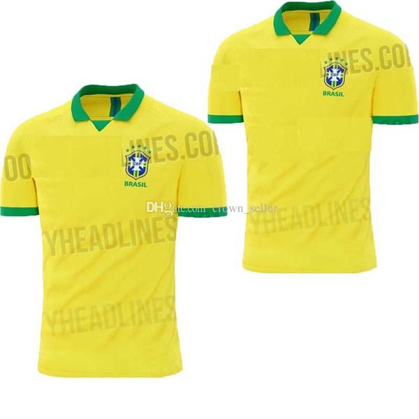 Brazil 2020 World Cup.2019 2019 2020 World Cup Brasil Soccer Jerseys Men Brazil Jersey 2019 20 Jesus Coutinho Firmino Marcelo Football Kit Shirt Camisa De Futebol From