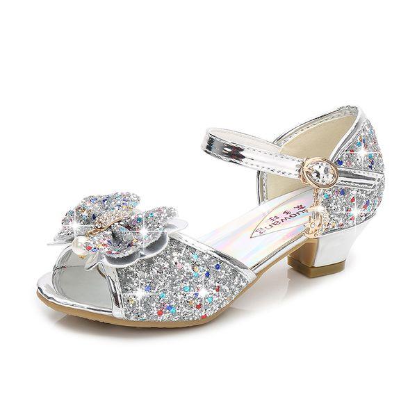 Silver Princess Sandals