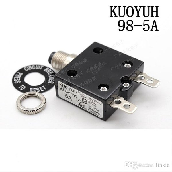 best selling Taiwan KUOYUH 98 Series-5A Overcurrent Protector Overload Switch