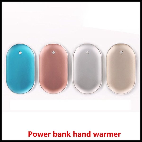 best selling USB Rechargeable Hand Warmer 4000ma Power Bank 5V Mini Portable Travel Handy Long-Life Pocket Hand Warmer