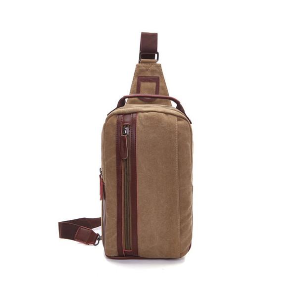 New 2019 Top Quality Men Messenger Bags Day Travel Chest Bag Canvas Handbags For Male Military Man Shoulder Bags Bolsas An691