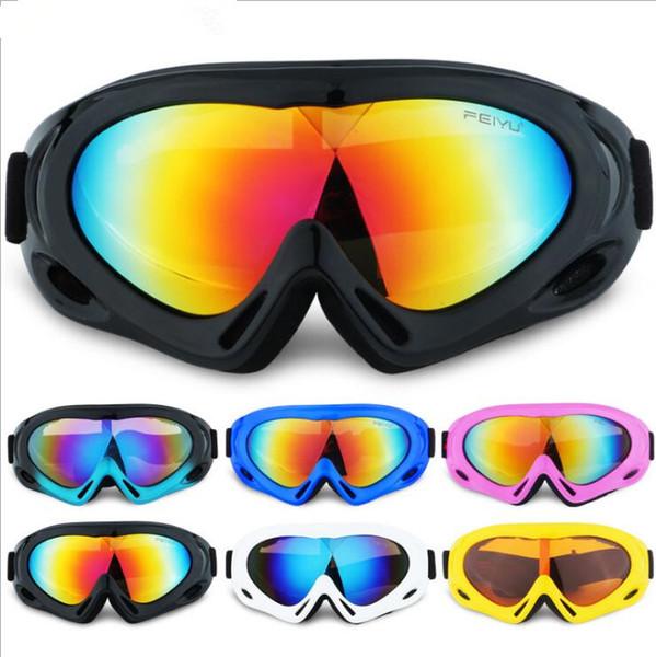 Kids Sunglasses Designer Mountain Climbing Sand-proof Sun Glasses Summer Sport Skiing Single Layer Eyewear Fashion Outdoor Ski Goggles LT902
