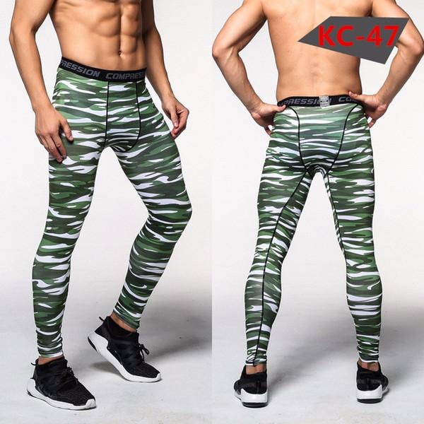 Calze da uomo da jogging 2018 camouflage da uomo leggings in camouflage leggings pantaloni di marca abbigliamento