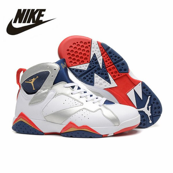 83d7de254d6f51 2019 Air Jordan Retro 7 Basketball Shoes Jordan VII Jordans Air 7S Men  Women Trainers Hare ...