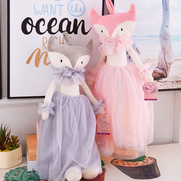 40cm Cute stuffed fox Stuffed Animals Toys Baby 's Playmate Gifts for Children Kids