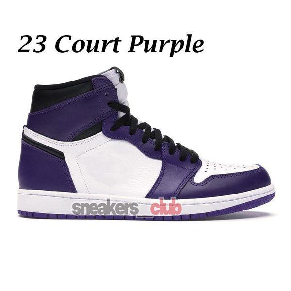 23 Tribunal roxo