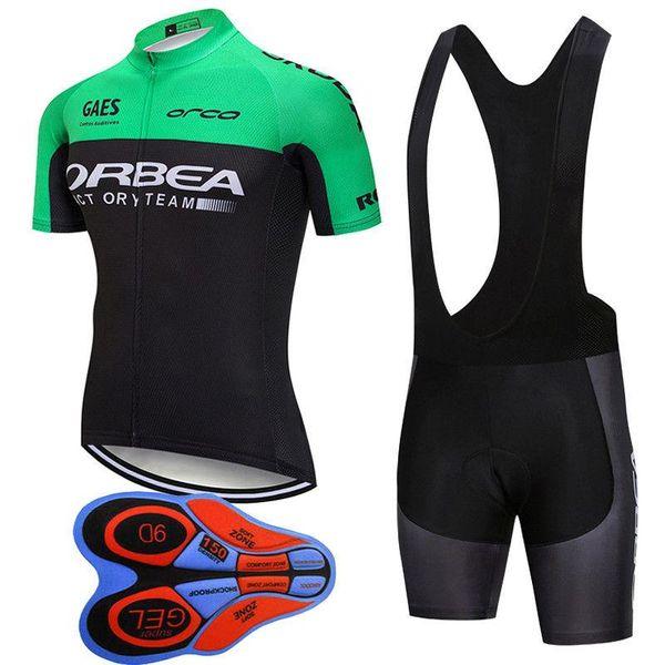 2019 Orbea Cycling Jersey Mtb Bike Clothes Cycling Clothing Bicycle Sportswear Outdoor Summer Cycling Jersey Bib Shorts Gel Pad J101201