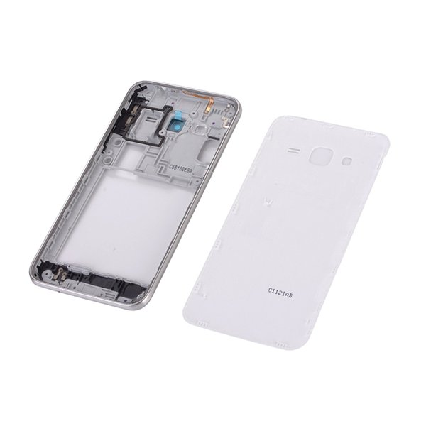 For Samsung Galaxy J3 2016 J320 J320F J320FD Housing Middle Frame Cover +  Battery Back Cover+Home Button Return Key Keypad+Tools Wholesale Cell Phone