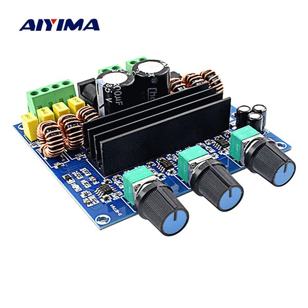 AIYIMA TPA3116D2 Subwoofer Amplifier Board 100W 2 1 Channel High Power  Digital Audio Amplifiers AMP 2*80W Home Theater Home Stereo System Home  Theatre