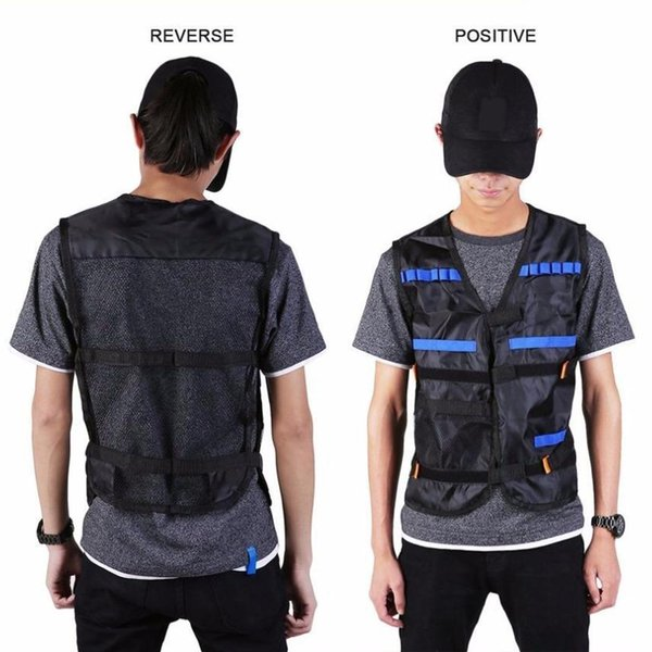 New Unisex Tactical Vest Toys Perfect Gift for Black Outdoor Activities Men and Women