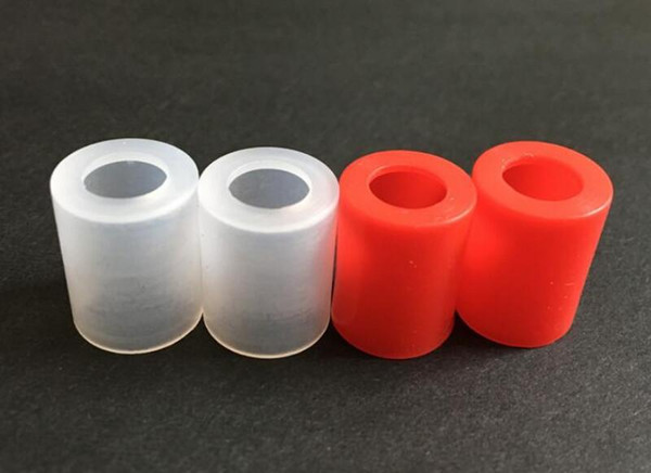 best selling Wide bore Silicone Drip Tip cover plastic Silicone Mouthpiece disposable Rubber Test Tips Cap Tester For iSub Atlantis arctic subtank DHL