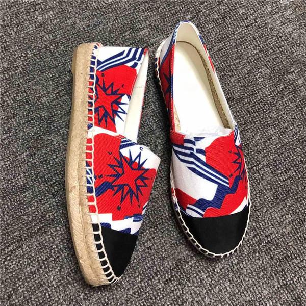 Bahar ve yaz saman küçük kokulu rüzgar balıkçının ayakkabı düz kenevir halat nefes anti-kıyameti loafer'lar tuval bayan ayakkabıları Ücretsiz denizcilikte