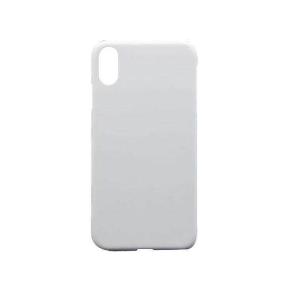 Estuche rígido para teléfono de sublimación 3D Estuche rígido para el iPhone XS MAX XR XS X 8 7 6 Plus Impresión de transferencia de calor