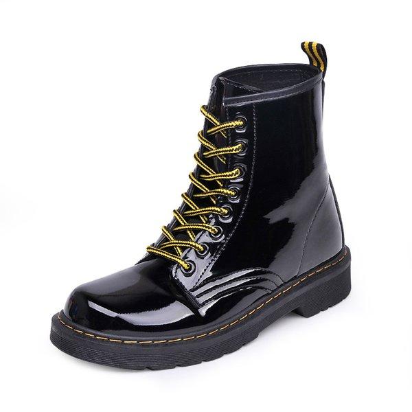 Sonbahar ve kış yeni Martin çizmeler kalın tabanlı rahat çizmeler, vahşi çizmeler, dantel, dış ticaret, bayan ayakkabıları