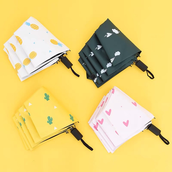 Fashion simple style umbrella black coating plain carbon steel rainy and sun protect 1pcs/lot dorp shipping
