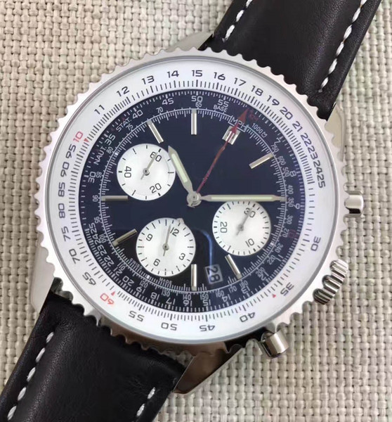 Luxury Designer Chronograph 1884 Japanese Quartz Mens Stainless Steel Watch Sports mens Stopwatch Watches Automatic Wristwatches