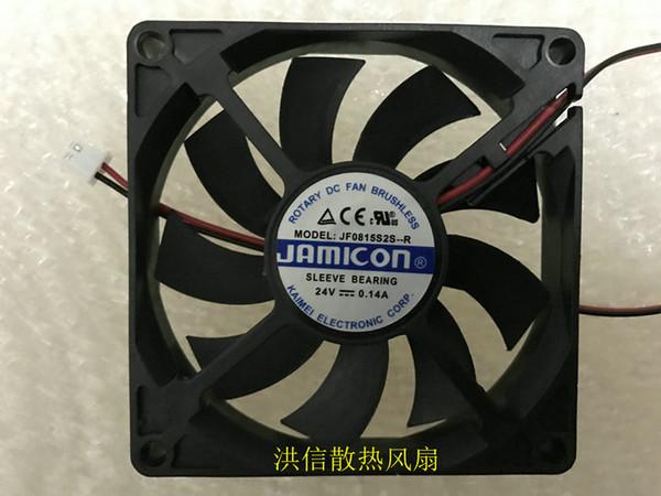 JAMICON JF0815S2S-R DC24V 0.14A 8CM 8015 Вентилятор охлаждения инвертора