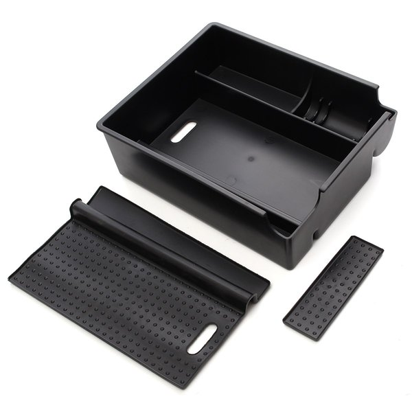 New Car Central Armrest Storage Box Glove Box Container for HYUNDAI IX35 2010-2015 Auto Accessories With Mat