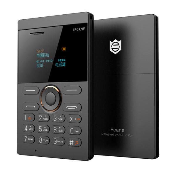 iFcane E1 FM Радио MP3 Вибрация Bluetooth Ультра тонкая Карта Мини Небольшие Мобильные Телефоны Детей Stendent Поддержка TF Карта Русский Ключ