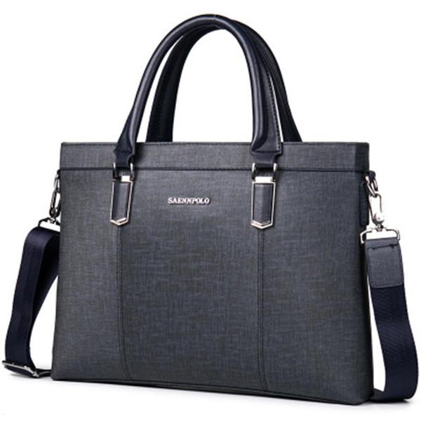 Business Laptop Bag Escritório Maleta Masculino Advogado Computador Saco Do Mensageiro Homens Trabalho Bolsa Executiva Masculina Homem Grande GWB-020