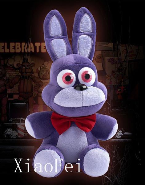 Sıcak Fnaf Beş 5 Nights Freddy '; S Bonnie 7 Quot; Peluş Bebek Oyuncak Hediye Noel Çocuk Anime