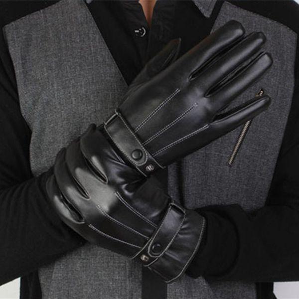 Winter Gloves motorcycle bike Leather Gloves men women Waterproof Warm Motocross Motorbike Tactical Cycling