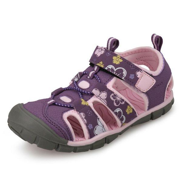 Enfants Mode Filles Sandales 2019 Chaussette Style Couleur Correspondant Conception Doux Durable TPR Sole Confortable Filles Sandales Avec Eur # 25-35