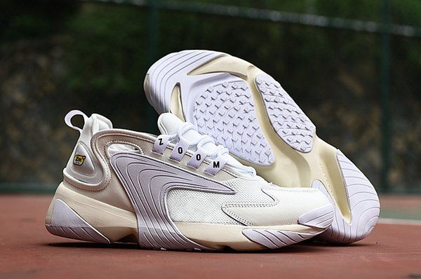 Acheter Nike Air Max Zoom 2K Boost Puma Asics Jordan Vans Fila Afhor Basketball Slipper Red Bottoms Nmd Triple Men De Course Rush Rose Lumière Crème