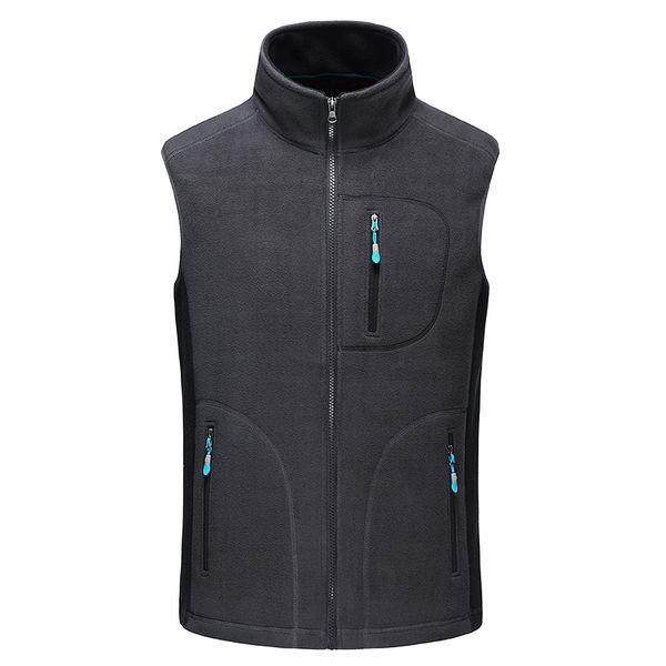 New Spring Vest Men Upset Fashion Casual Waist Coats For Men Slim Zipper Short Colete Cashmere Vest Jacket Men's