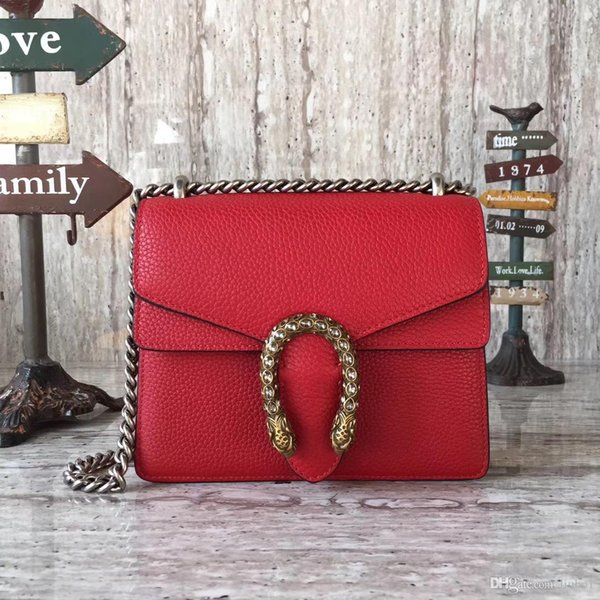 Famous Brand Litchi grain Leather Mini bag with Rhinestone Hardware and Cowhide Strap Top Quality women genuine leather Shoulder Bag 421970