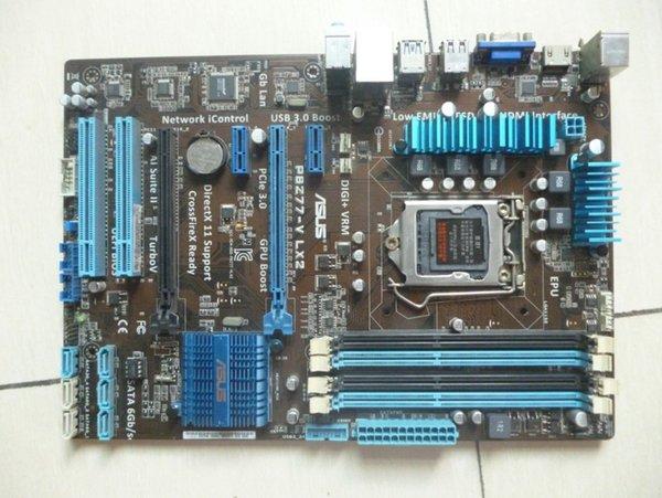 Verwendet für Asus P8Z77-V LX2 Desktop-Motherboard Z77 Sockel LGA 1155 i3 i5 i7 DDR3 32G SATA3 USB3.0 ATX