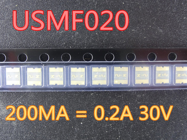 best selling 100pcs lot New USMF020 1210 200MA 0.2A 30V In Stock Free Shipping