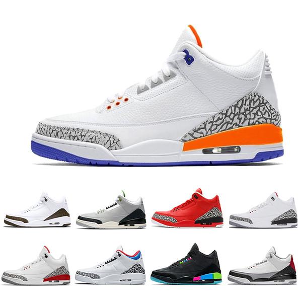 Iii New Knicks Rivals Hommes Chaussures De Basketball Moka Chlorophylle Varsity Rouge Georgetown Hoyas Quai 54 Tinker Blanc Ciment Baskets De Sport En Plein Air