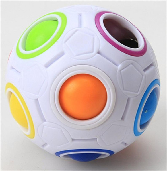 Spherical Cube Rainbow Ball Puzzle Educational Toys Press Speed Baby Children 70mm