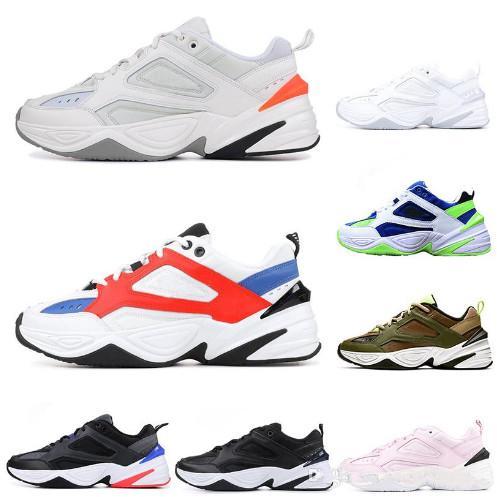Wholesale alte Männer M2K Tekno-Sport Schuhe für Mann-Frauen-athletische Trainer-Berufsentwerfer Schuhe mit Kasten geben Verschiffen frei