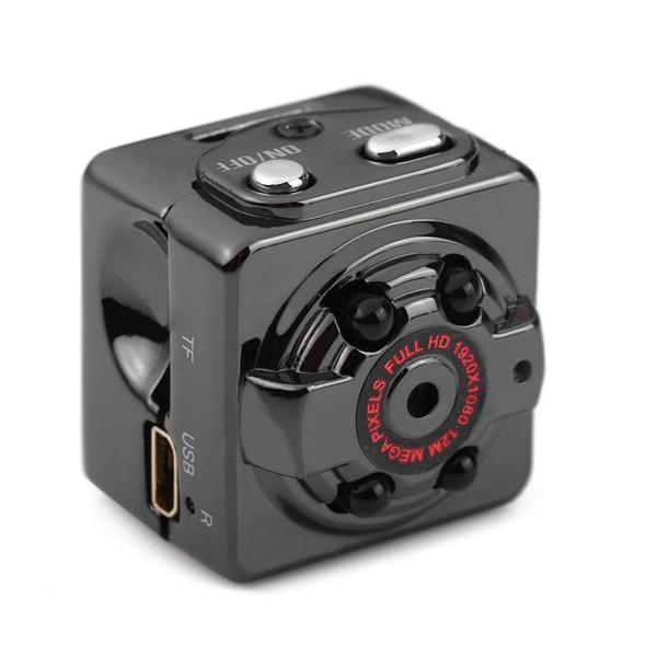 SQ8 Mini Kamera 1080p Mikro Açık Kamera Sport Video HD Kamera Gece Görüş Kablosuz Vücut DVR DV Tiny Hareket Sensörü Minicamera