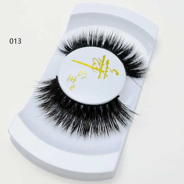 Beautiful False Eyelashes Korea Makeup Private Label Mink Eyelash 100% Natural Material Hand-Made 3D Mink Eyelashes