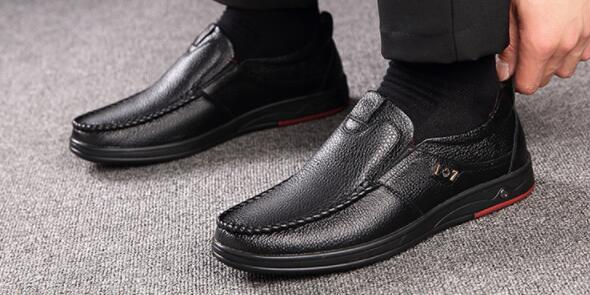 High-top men's shoes, genuine leather lace, European and American leather boots, men's Martin boots, casual leather shoes, men's foreign tra