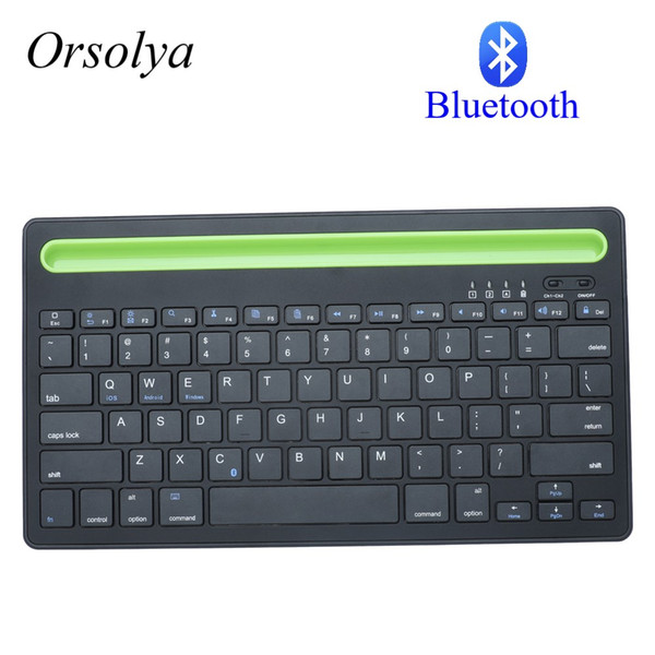 ice & Keyboards Keyboards Bluetooth MIni Keyboard With Phone Holder Wireless Keyboard For Tablet Laptop phone,Compatible with IOS Win...