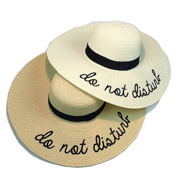 f20f1665373fa Summer Women Sun Hat Ladies Wide Brim Straw Hats Foldable Beach Panama Hats  Church Hat Bone