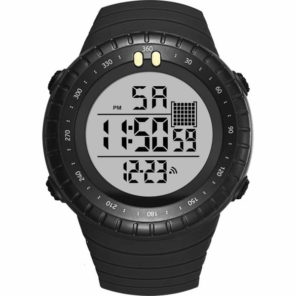 Relogio Masculino Mens Watches Sport Top Brand Simple Multi-Function Disc Digital Watch Fashion And High Quality Clock @50