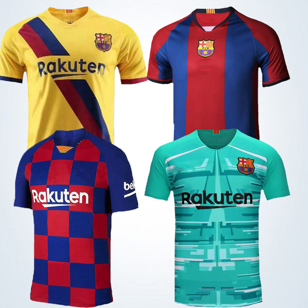 newest a9113 7304f 2019 19/20 FC Barcelona Soccer Jersey MESSI Jersey 7 COUTINHO 9 SúAREZ  Soccer Jerseys Customizable Football Suit Cheap And Fine From Lks15966,  $13.21 ...