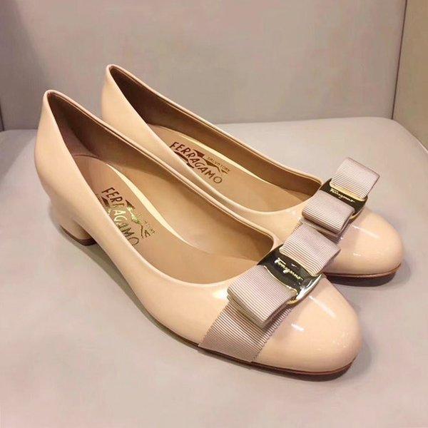 Womens Pumps Chaussures Mid Heel 3.5cm Pompe da donna Womens Shoes Bureau Mode Footwears Vente Chaude Pompes pour Dames Drop Ship
