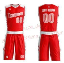 Benutzerdefinierte Jeder Name einer beliebigen Anzahl Männer Frauen Lady Jugend-Kind-Jungen-Basketball-Trikots Sport Shirts Wie die Abbildungen Sie B265 Angebot